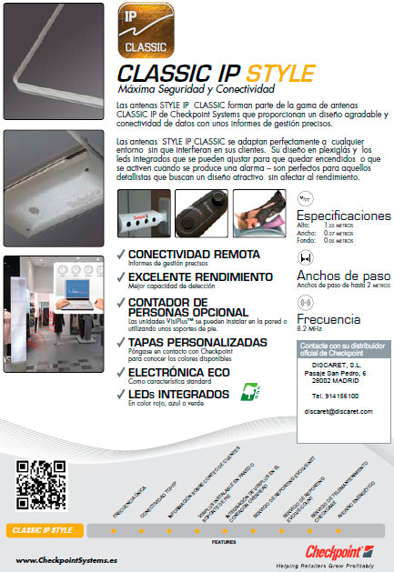 Discaret, S.L. Classic IP style productos